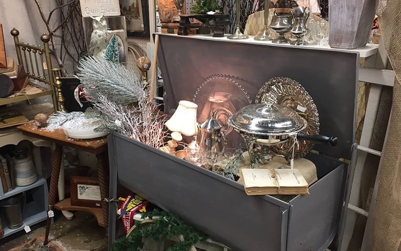 Picture of booth 45 antiques