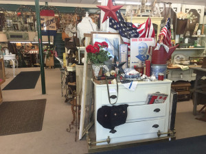 Shop full of antique dealers at Antiques of Winfield